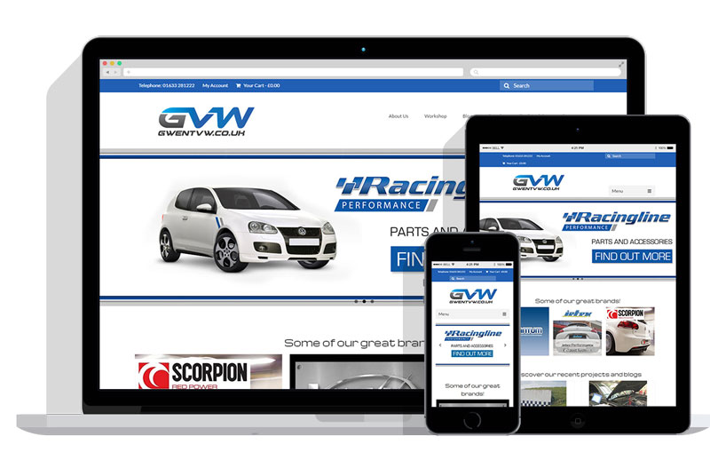 Gwent-VW-Responsive-Website-web