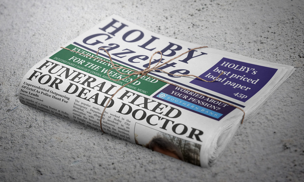 Holby Gazette (BBC Casualty)