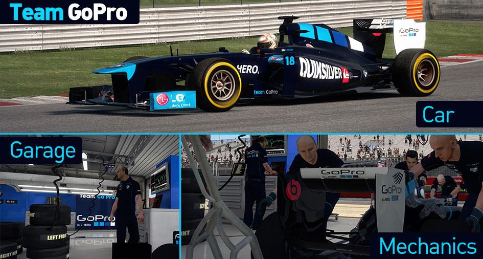 Go Pro F1 Team