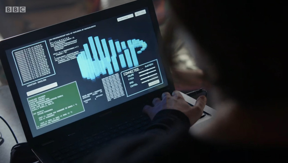 Hacker-Screen