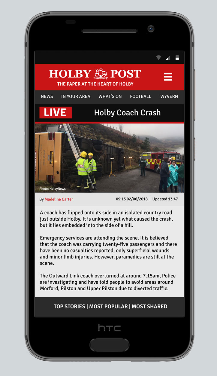 holby post app stephen fielding casualty